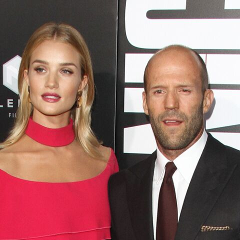 PHOTO – Rosie Huntington-Whiteley annonce être enceinte de Jason Statham