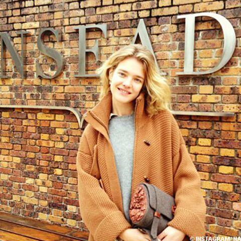 Natalia Vodianova, back to business school