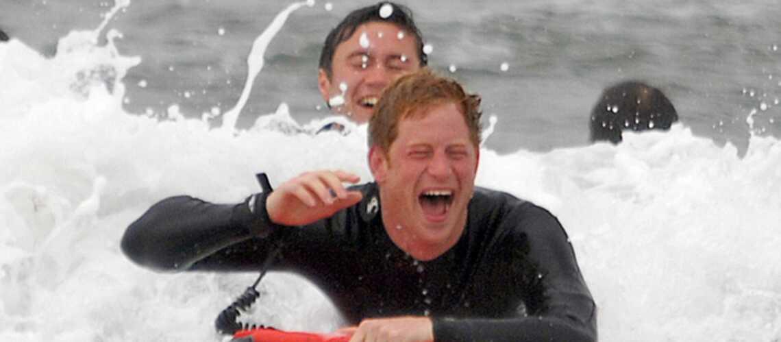 Photos- Les princes William et Harry, comme des poissons… sur l'eau