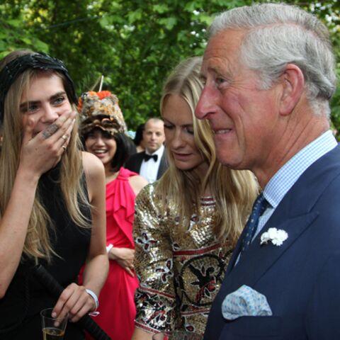 Photos- Le prince Charles s'éclate avec Cara Delevingne