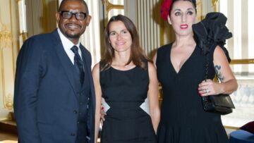 Rossy de Palma et Forest Whitaker décorés par la ministre de la Culture