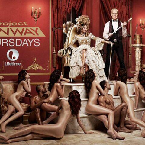 Heidi Klum déshabille des mannequins