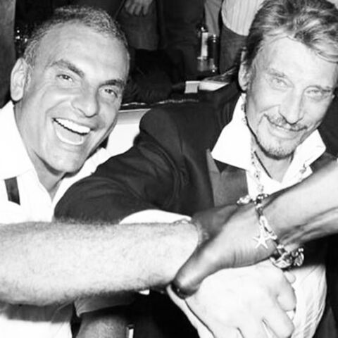 Johnny Hallyday pleure Christian Audigier