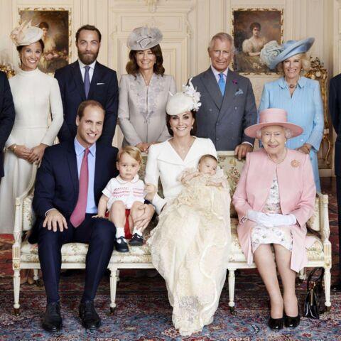 Découvrez les photos officielles du baptême de princesse Charlotte