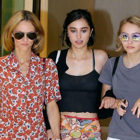 Vanessa Paradis et Lily-Rose, modèles pour Karl