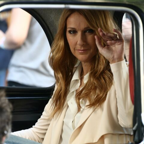 Céline Dion tourne le clip d'Encore un soir à Paris