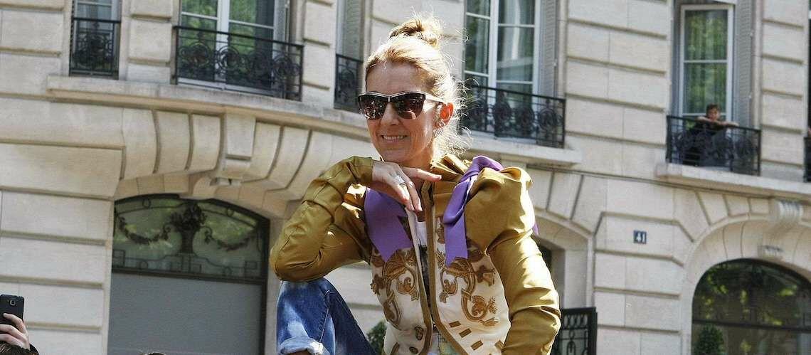 PHOTOS – Céline Dion fait sensation en veste de torero dorée et jean délavé