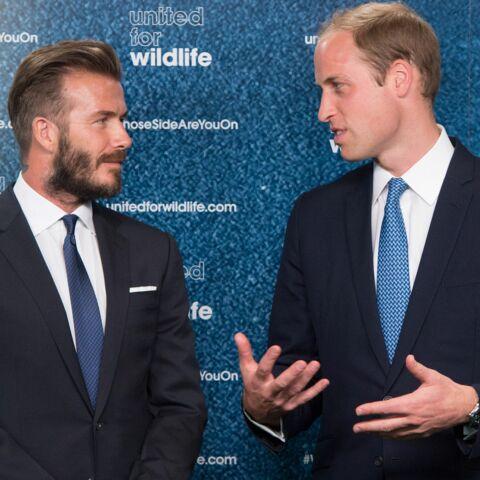 Le Prince William et David Beckham unis pour la bonne cause