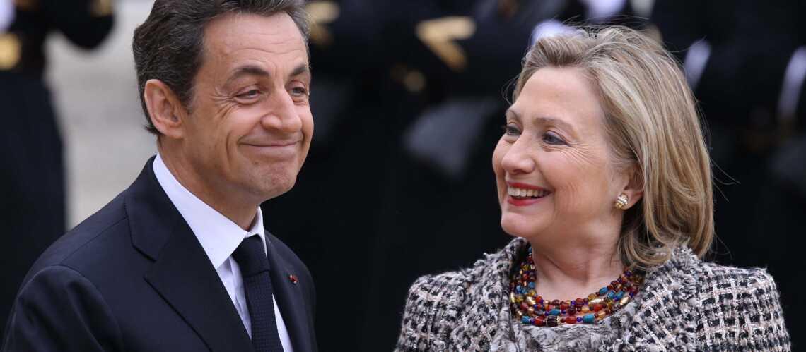 Hillary Clinton et Nicolas Sarokzy, friends malgré tout
