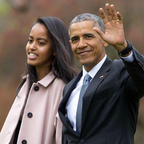 Malia Obama diplômée devant ses parents