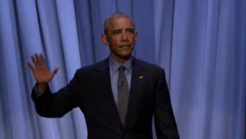 Barack Obama chante son bilan en mode «crooner»