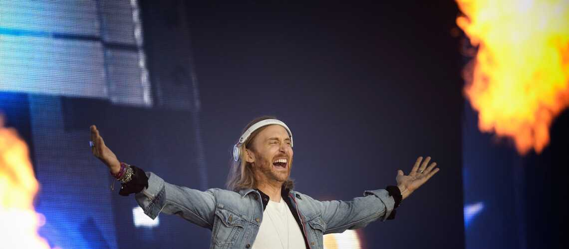 Photos – David Guetta met le feu pour l'Euro 2016