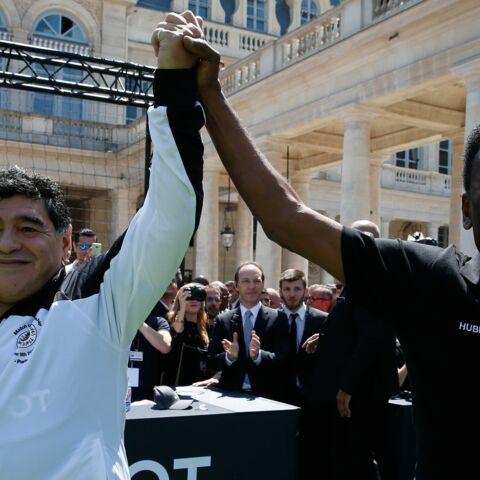 Pelé et Maradona: rencontre au sommet pour Hublot