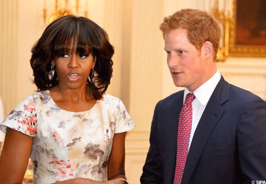 Michelle Obama et le prince Harry