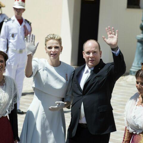 Charlène de Monaco, élégante en Dior pour le baptême de ses enfants