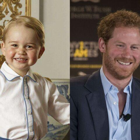 Baby George, l'arme de séduction massive du prince Harry