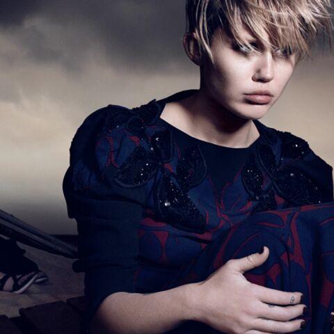 Miley Cyrus, la mode à la plage