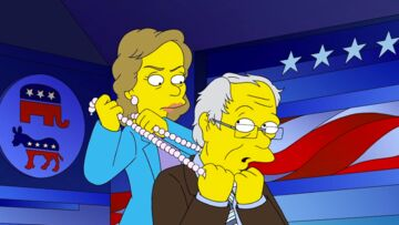 VIDEO – Les Simpson parodient la course à la Maison Blanche
