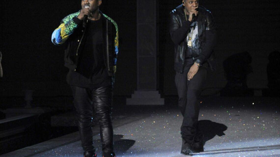 Jay-Z et Kanye West s'installent sur leur trône parisien