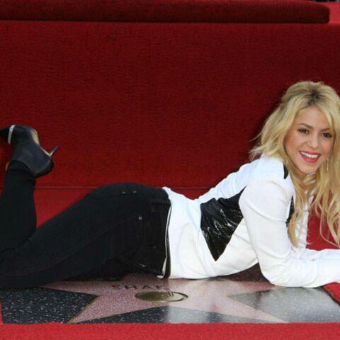 Shakira, une nouvelle étoile sur le Walk of Fame