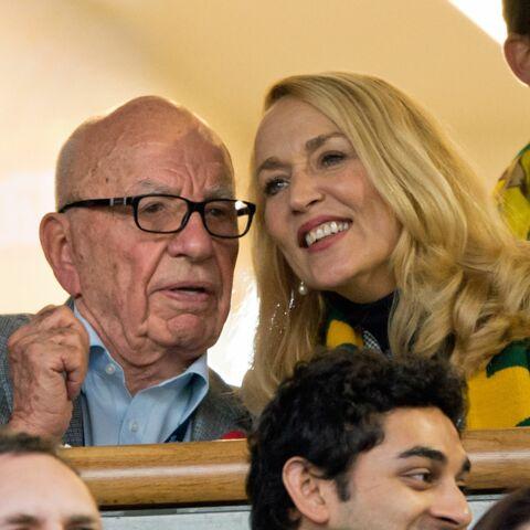Jarry Hall et Rupert Murdoch, les amants du troisième âge