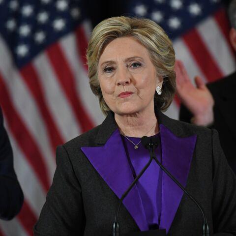 Hillary Clinton: son smoking violet comme un appel à l'unité après sa défaite face à Donald Trump