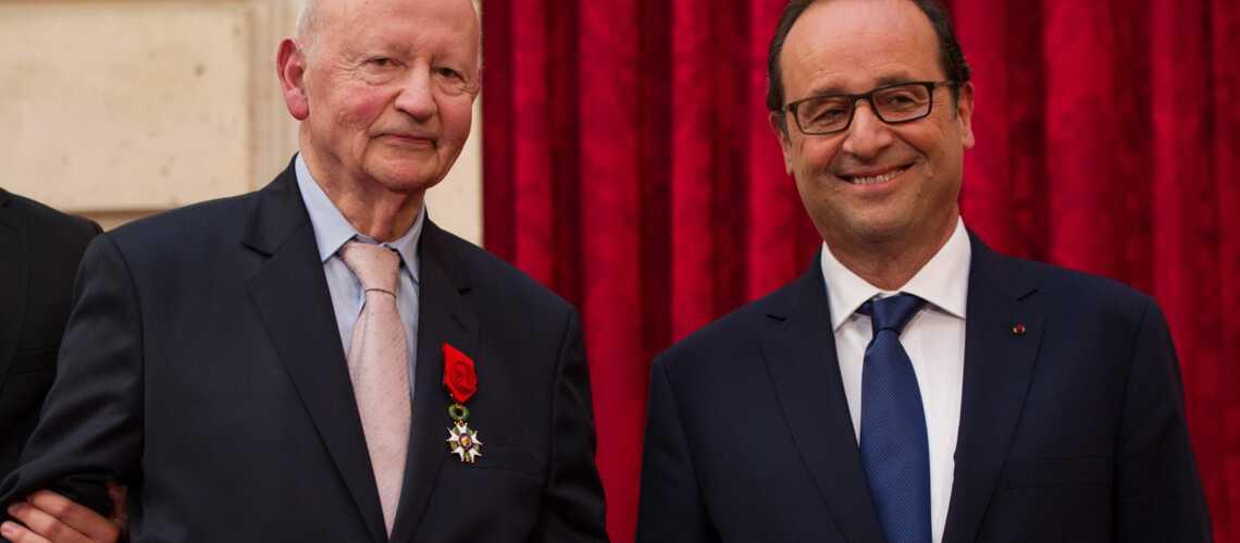 François Hollande a fait Gilles Jacob Grand officier de la Légion d'honneur