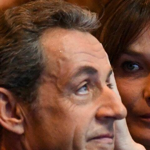 PHOTOS – Œillades, gestes tendres… Carla Bruni totalement hypnotisée par Nicolas Sarkozy