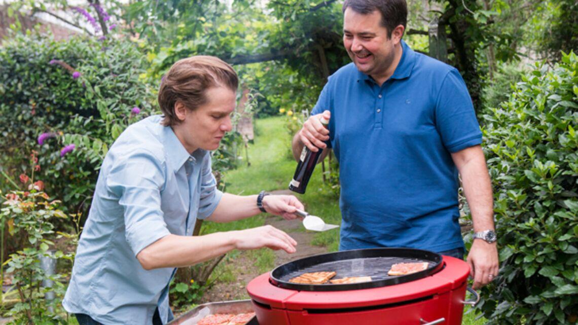 Vidéo- Le barbecue de Bénabar par Marie-Caroline Malbec