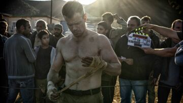 Matt Damon: la 1ere photo du retour de Jason Bourne