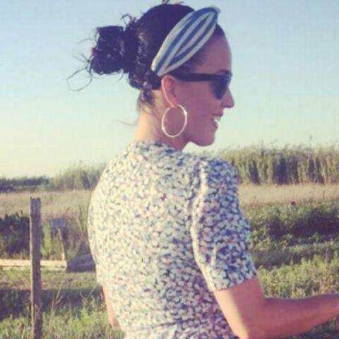 Photo – Katy Perry dévoile sa culotte sur l'île de Ré