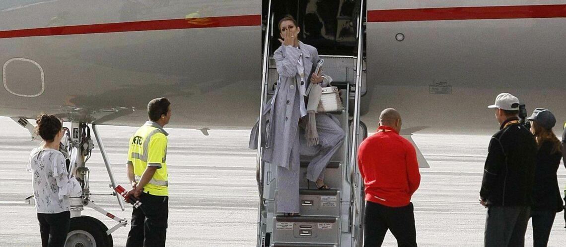 PHOTOS – Céline Dion: un nouveau look original et maxi avant de quitter Paris, son au revoir émouvant à ses fans