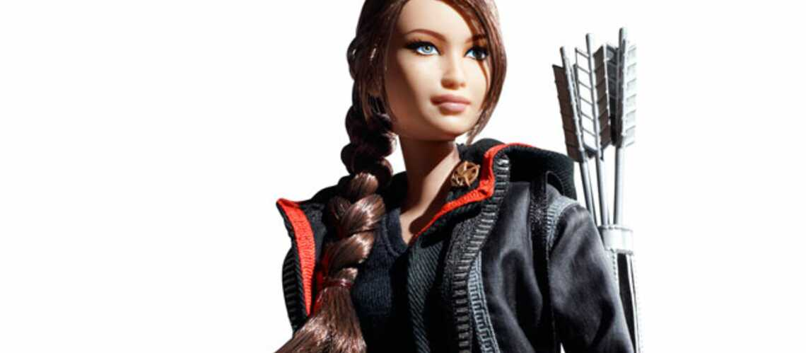 Hunger games: Jennifer Lawrence en Barbie Girl