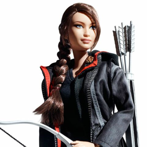 Hunger games: Jennifer Lawrence en Barbie Girl