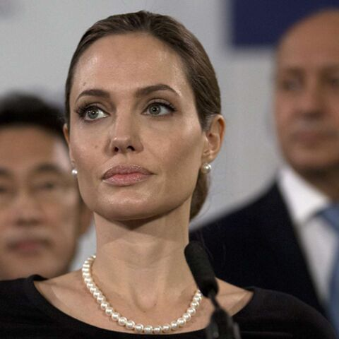Angelina Jolie et Laurent Fabius: rencontre au sommet