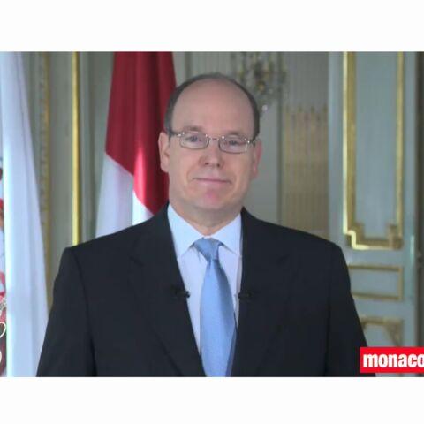 """Albert II de Monaco: """"Je souhaite partager ce bonheur avec les Monégasques"""""""