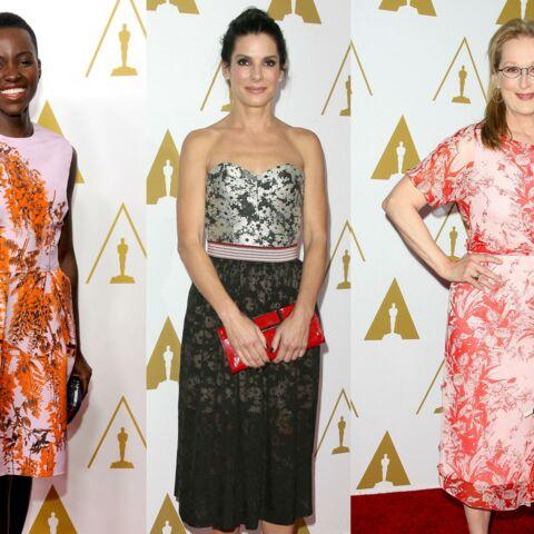 Sandra Bullock, Meryl Streep, Lupita Nyong'o instants fleuris