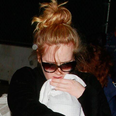 Adele, première sortie avec bébé