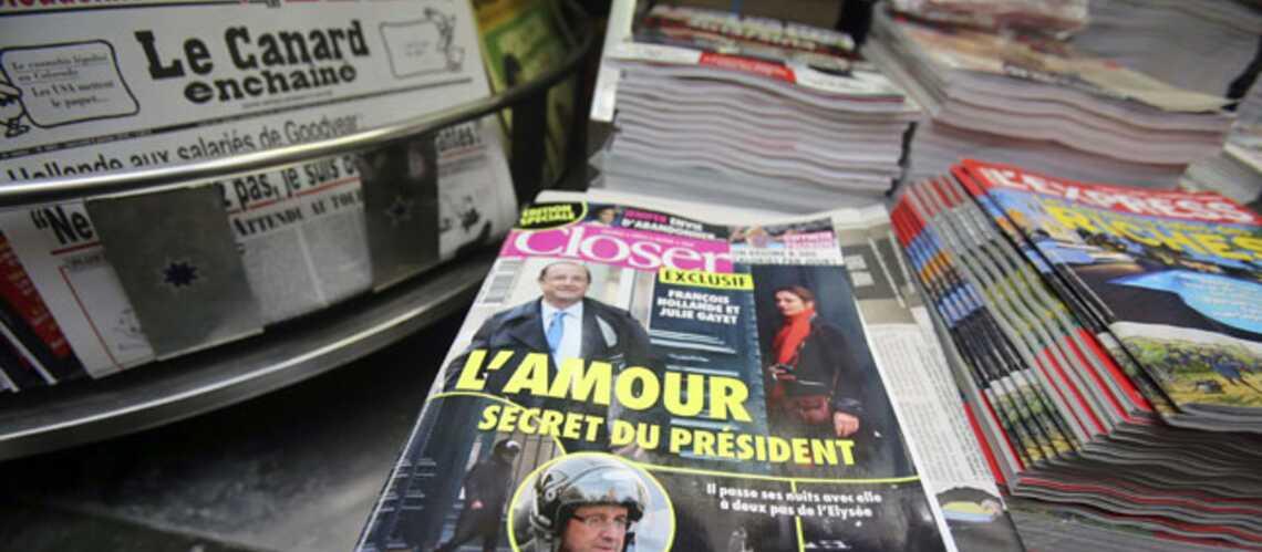 Photos- Hollande-Gayet: l'histoire passionne la presse internationale