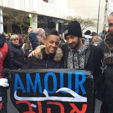 Photos- Cyril Hanouna, Julie Gayet, Arnaud Montebourg et Aurélie Filippetti, en direct du rassemblement