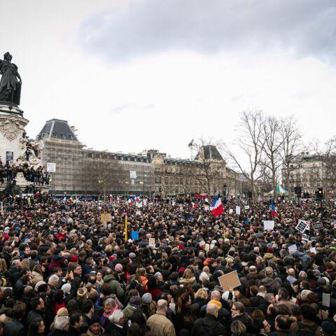 Photos – Marche républicaine: près de quatre millions de Charlie