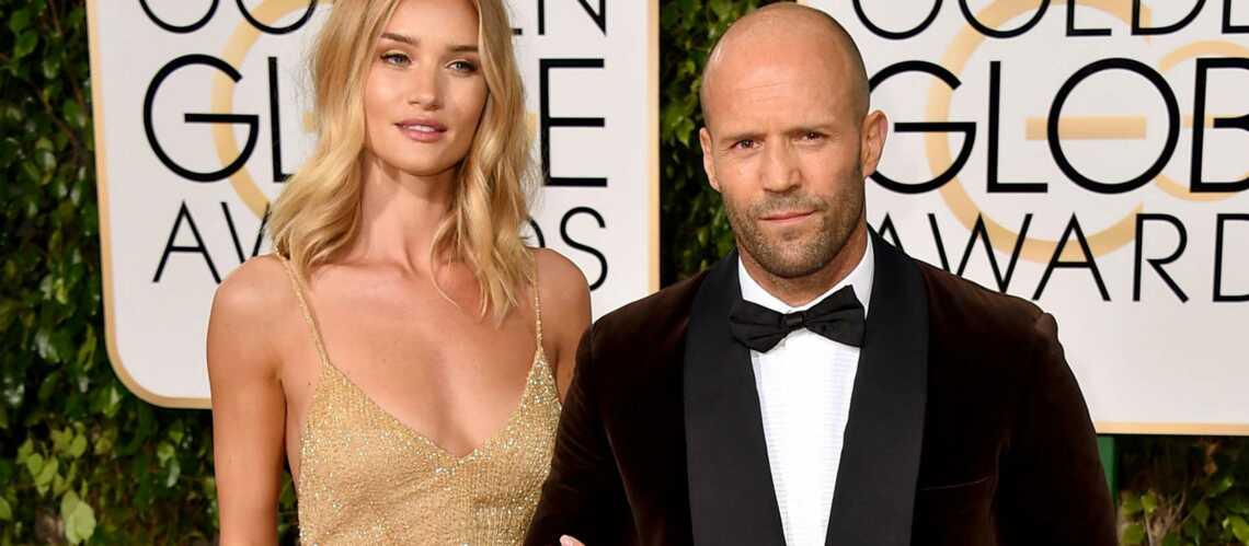 Jason Statham et Rosie Huntington-Whiteley fiancés