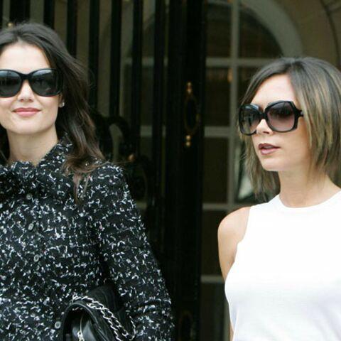 Victoria Beckham soutient son amie Katie Holmes