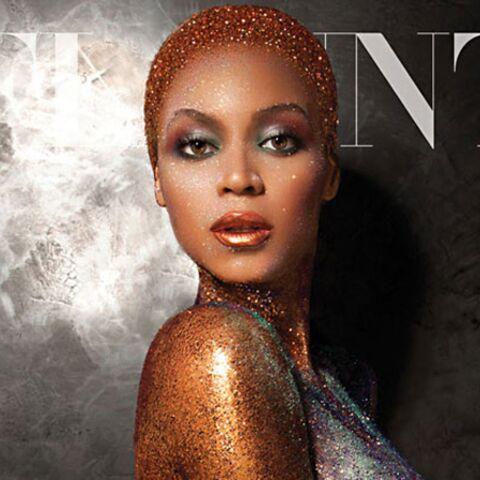 Beyoncé dorée nue