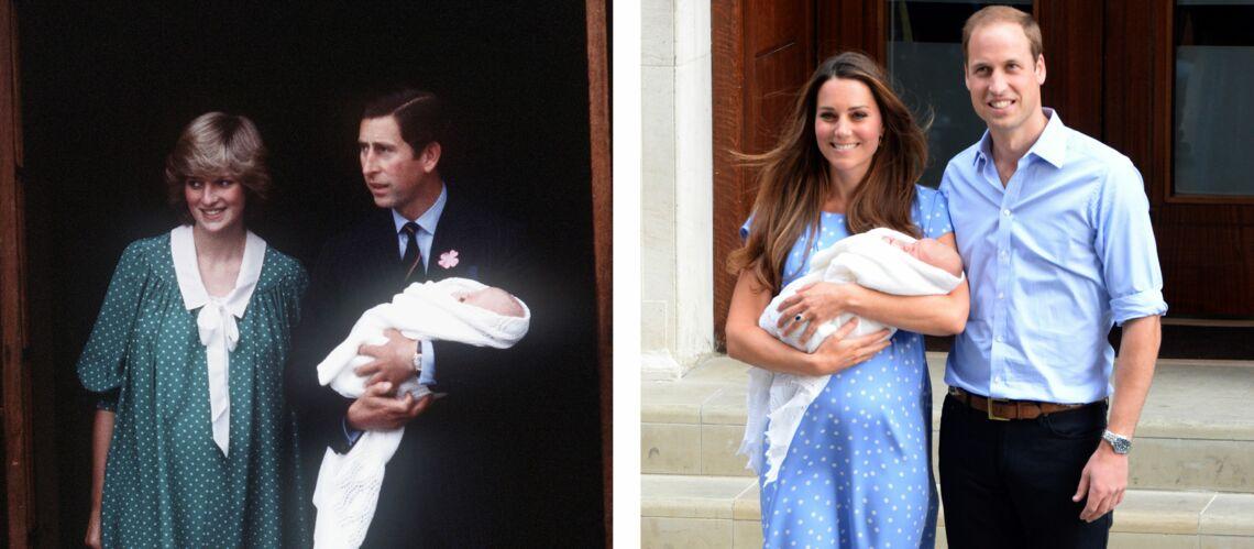 PHOTOS – Kate Middleton: comme Lady Diana, elle raffole de ses robes à pois