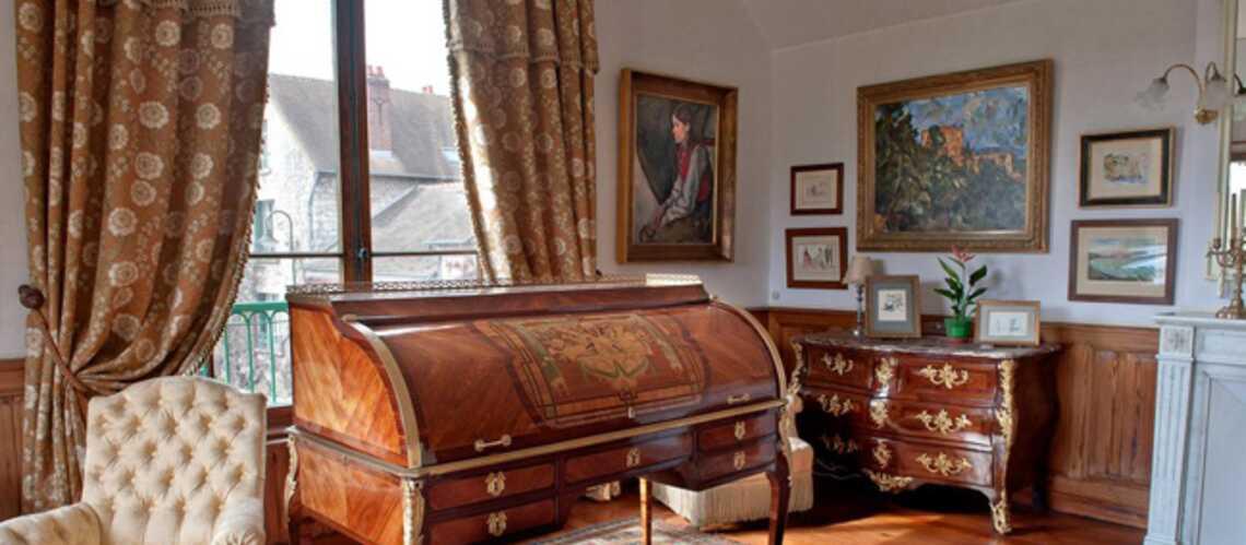 Giverny: la chambre de Claude Monet restaurée