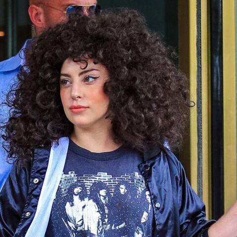 Coiffure de star: L'afro choc de Lady Gaga
