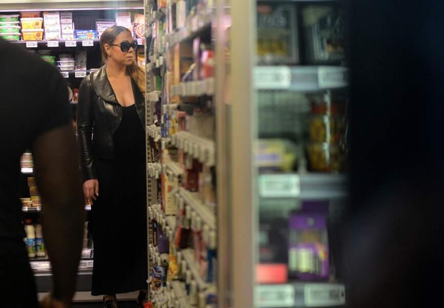 Quand Mariah Carey fait ses courses chez Carrefour