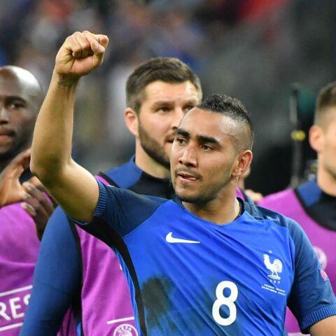 Dimitri Payet en larmes au Stade de France