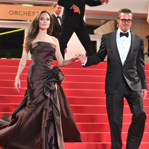 Cannes en famille: Angelina Jolie et Brad Pitt